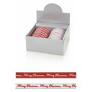 Merry Christmas Finishing Ribbon 2.7mt (R145305)