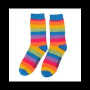 Mr Heron Thick Stripe Socks Rainbow (MH194RAINBOW)