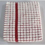 Monte Cristo Tea Towel Red (106801RD)
