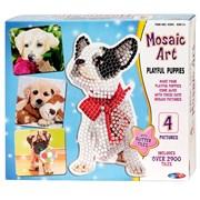 Playful Puppies Mosaic Art Set (4203)