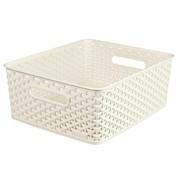 Curver Rattan Basket White 03611 13lt (196852)