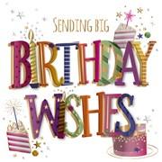 Birthday Cake B/day Card (MWER0147)