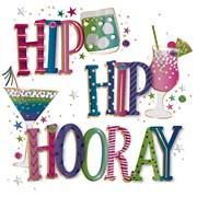 Birthday Fizz B/day Card (MWER0148)