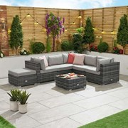 Chelsea Corner Sofa Set-grey (N11554)
