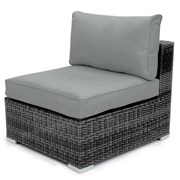 Chelsea Pair of Middle Sofa Pieces - Grey