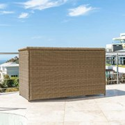 Heritage Rattan Storage Box with Cover - Willow