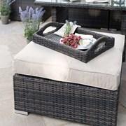 Footstool for Chelsea Corner Dining Set - Brown