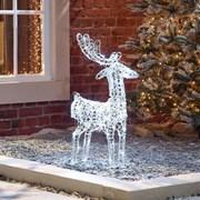 Spun Acrylic Miracle The Reindeer 80cm (N18743TWW)