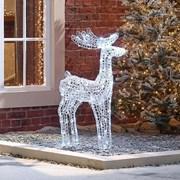 Spun Acrylic Miracle The Reindeer 100cm (N18744TWW)