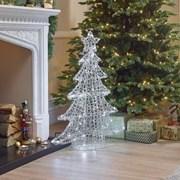 Soft Acrylic Xmas Tree Warm White 100cm (N18762TWW)