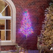Starburst Tree Multi Coloured 120cm (N18790TWW)