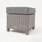 Ciara Footstool - White Wash