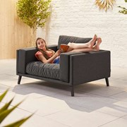 Infinity Lounge Armchair - Dark Grey