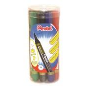 Pentel Chisel Tip Value Marker Asst 12s (N860T12-MIX)