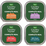 Natures Menu Country Hunter Aluminium Tray Multipack 300g (CHATMUL)