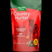 Natures Menu Country Hunter Superfood Dog Biscuits Beef 1.2kg (CHBISB)