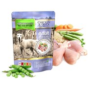 Natures Menu Cooked Food Pouches For Dogs Chicken & Duck 300g (NMPCD)