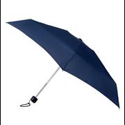 Totes Isotoner Auto Mini Xtra Strong Plain Navy Umbrella (8159NAV)
