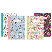 Exercise Note Book-marlene West-4 Assorted Designs A4 (NBA4MW)
