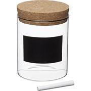 Kitchen Craft Kc Natural Elements Storage Canister Glass 13cm (NEGCSML)
