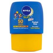 Nivea Sun Cream Childrens Pocket Size F50 50ml (BD254562)