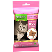 Natures Menu Real Meat Chicken & Liver Mini Treats For Cats 60g (NMCLT)