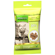 Natures Menu Real Meat Chicken & Turkey Mini Treats For Cats 60g (NMCTT)