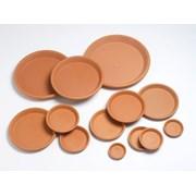 Y.f.pots Plain Saucer 25cm (57221)