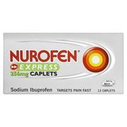 Nurofen Express Relief Caplets 12s (RB451216)