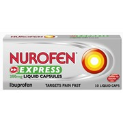 Nurofen Express Relief Liquid 10s (RB0160065)