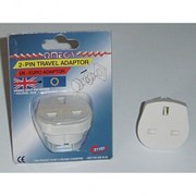 Omega Euro Travel Adapter (21114)