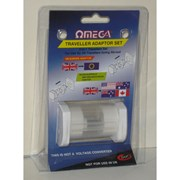 Omega Travel Adapter Set (21117)