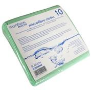 Optima Microfibre Cloth Green 10s (758G)