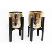 Sifcon Metallic Gold Planter 18x25 (OR1111)