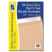 O/style Envlpe Manilla P/s C4 50s (STA022)
