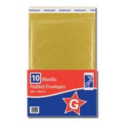 O'style Padded Envlps Gold 240x335 G (STA040)