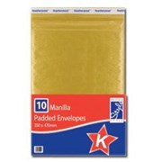 O'style Padded Envlps Gold 350x470 K (STA043)