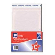 O'style Padded Wht Envlpe 150x215mm C (STA046)