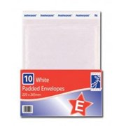 O'style Padded Wht Envlpe 220x265mm E (STA048)