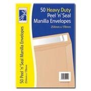 O/style Peelnseal Manilla 254x178mm 50s (STA020)