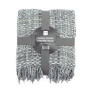 Luxury Woven Chenille Throw Grey 152cm (OTS191220)