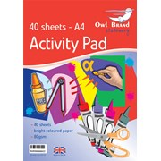 Owl Brand  Activity Pad 40 Sheets A4 (OBS734)