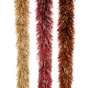 Festive Trad Downswept Tinsel 3 Assorted Colours (P026727)