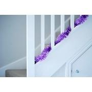 Festive Tinsel Chunky Cut Lilac 200cm x 10cm 200cm (PO32497)