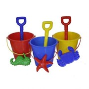 Bucket Spade & Mould Set Assorted 15cm (53150)