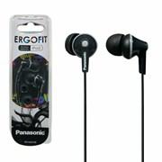 Panasonic Ergo Fit Earphones Black (PA-RP-HJE125E-K)