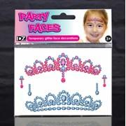 Party Faces- Glitter Princess Tiara (887)