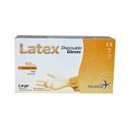 Latex Powder Free Gloves 100s Lge (103489)
