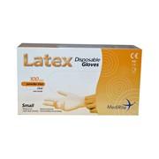 Medirite Latex Powder Free Gloves 100s Sml (103487)