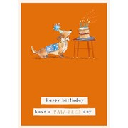 Paw-fect B/day Card (GH1061)